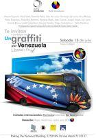 Un graffiti por Venezuela