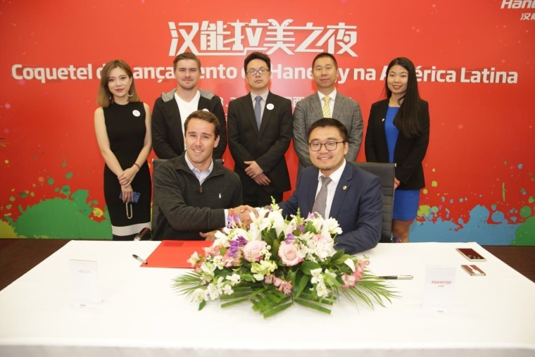 Foto de Hanergy reached agreement with Latin American companies
