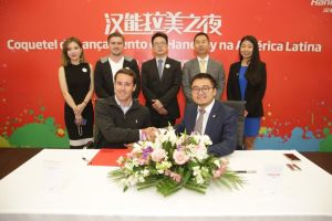 Hanergy reached agreement with Latin American companies