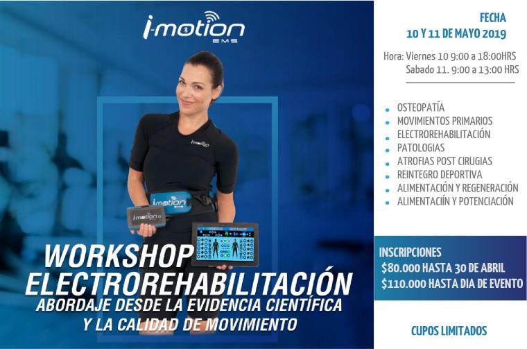 Foto de Workshop Electrorehabilitación Santiago de Chile