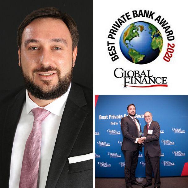 Luigi Wewege anuncia que Caye en Belice ha sido nombrado de los mejores bancos privados del mundo para 2020