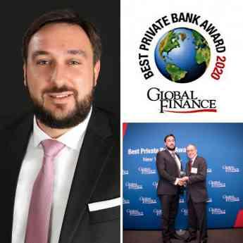 Luigi Wewege anuncia que Caye en Belice ha sido nombrado como uno de los mejores bancos privados del mundo para 2020