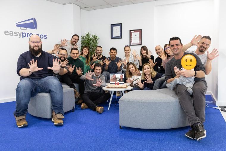 Foto de Celebracion 10 años Easypromos